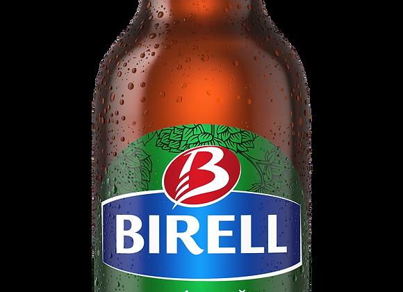 Birell Zelený Ječmen, světlé nealk. ochucené pivo 0,5l láhev