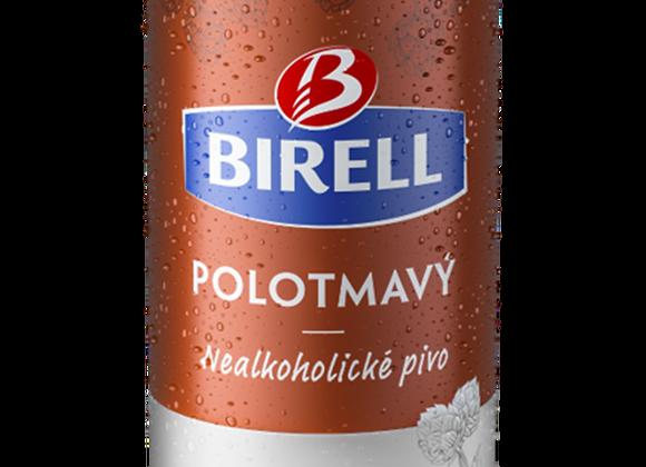 Birell Polotmavý, polotmavé nealkoholické pivo 0,5l plech
