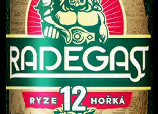 Radegast Ryze Hořká 12, sv. ležák 0,5l plech