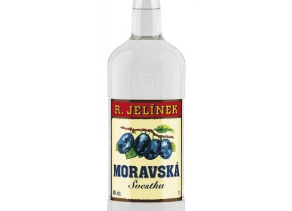 Moravská švestka Jelínek 40% 1l