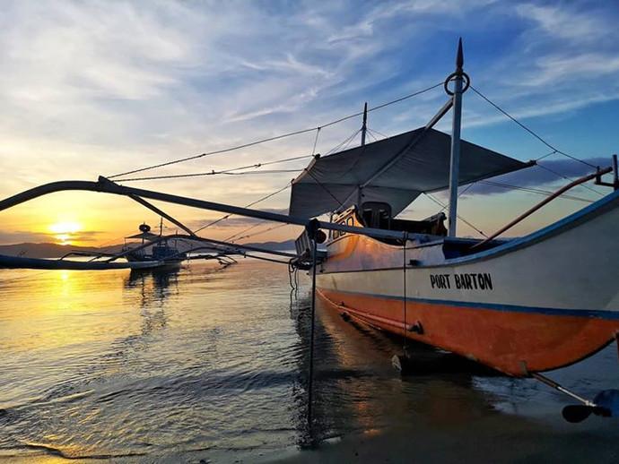 Boat boat~__#portbarton #palawan #keladk