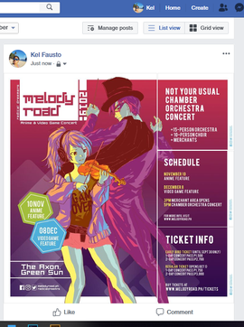 Melody Road (Clickable Event Poster)