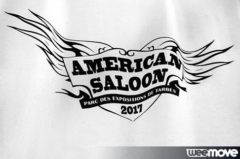 Tee-Shirt American Saloon 2017
