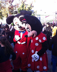 Mascottes de Mickey et Minnie