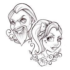 monstres et merveilles tatouage