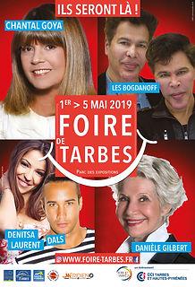Foire de Tarbes 2019 Affiche Chantal Goy