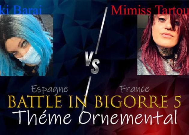battle in bigorre thème ornemental