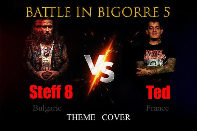battle in bigorre thème cover