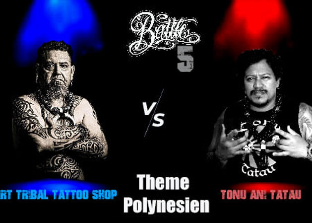 battle in bigorre thème polynésien