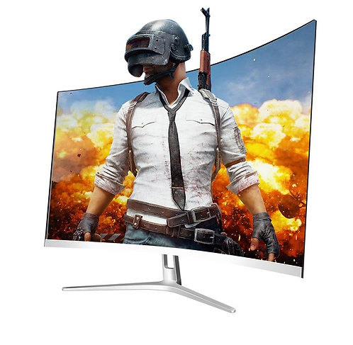 24 Inch HD Display LED Curved Monitor