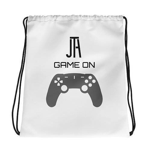 JTA Game on Drawstring Bag