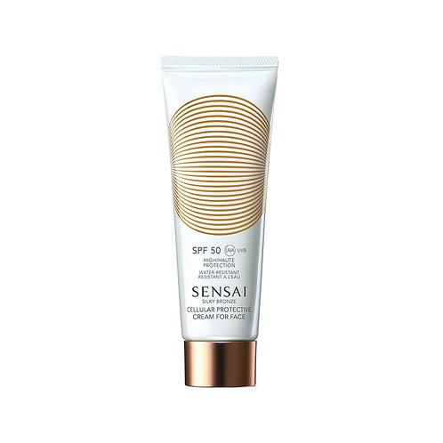 Silky Bronze Cellular Protective Cream For Face (SPF 50)