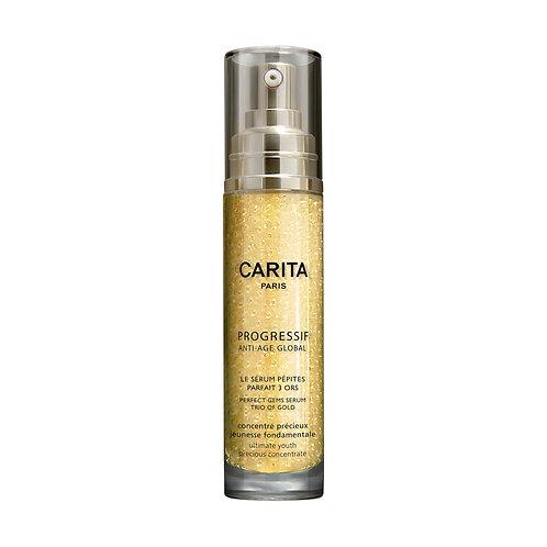 Carita Global Perfect Gems Serum Trio Of Gold 40ml