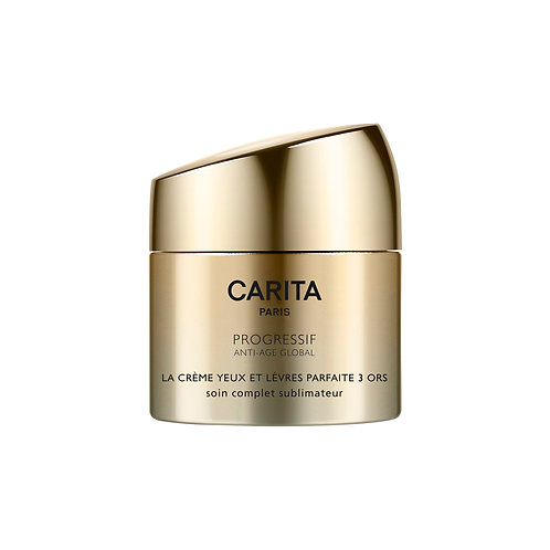 Carita Global Perfect Cream For Eyes & Lips Trio Of Gold