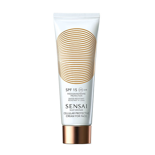 Silky Bronze Cellular Protective Cream For Face (SPF 15)