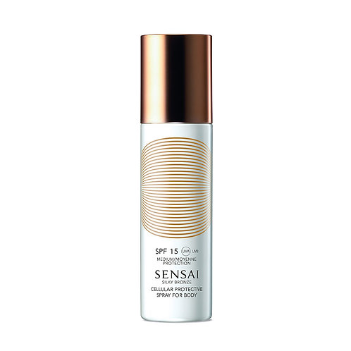 Silky Bronze Cellular Protective Spray For Body (SPF 15)
