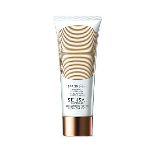 Silky Bronze Cellular Protective Cream For Body (SPF 30)