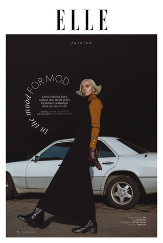 IN THE MOOD FOR MOD / ELLE INDONESIA