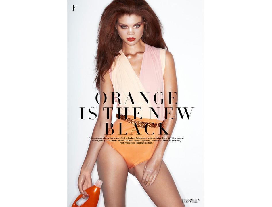 ORANGE IS THE NEW BLACK / FACTICE