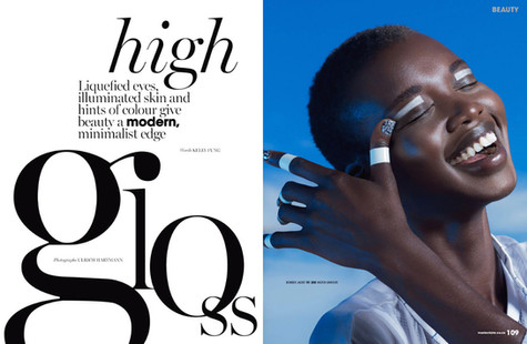 HIGH GLOSS / MARIE CLAIRE
