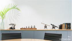 עיצוב חדר דיונים