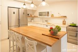 עיצוב מטבח כפרי מודרני