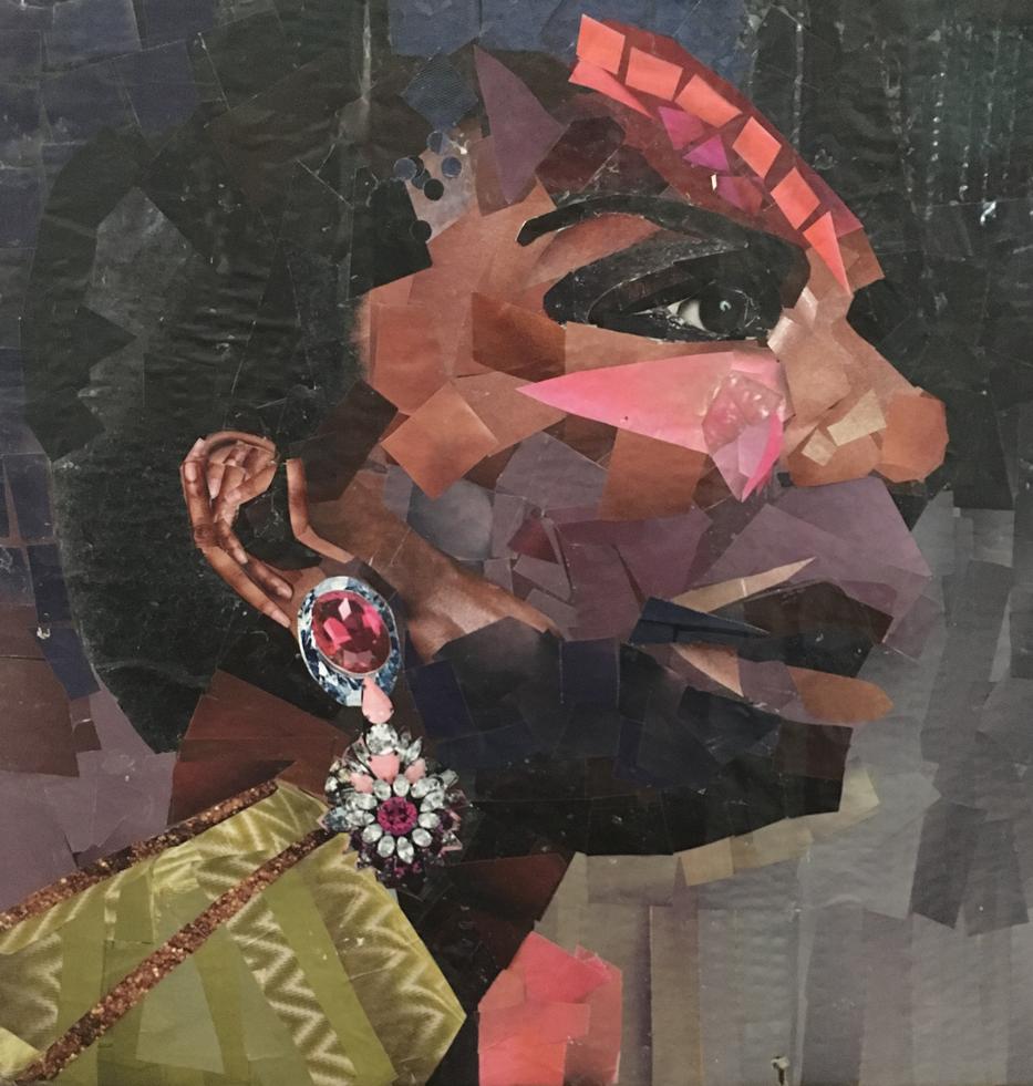 Nina Simon study for larger portrait