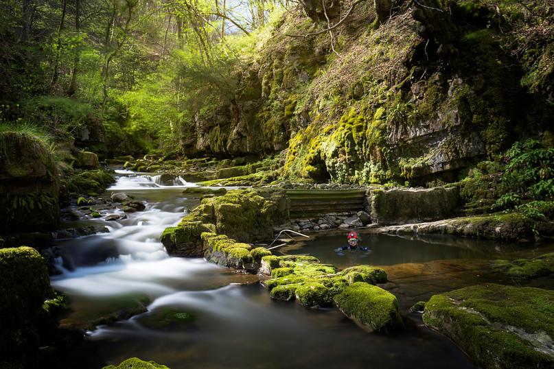 Pwyll y Cwm, Cave