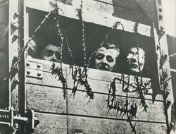 Holocaust victims on train