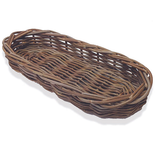Kubu Rattan Oval Bread Basket