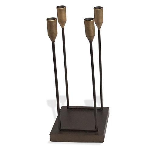 Mid Century Style Candle Holder – Square base