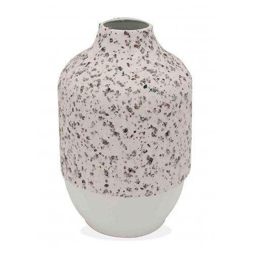 Metal Textured Vase - Small