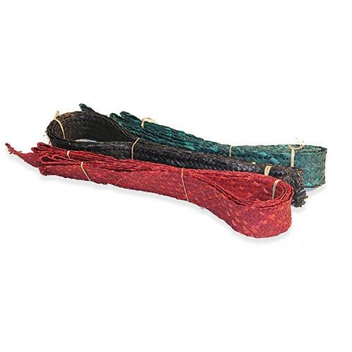 """Flax Ribbon Green 2"""" (50mm)"""