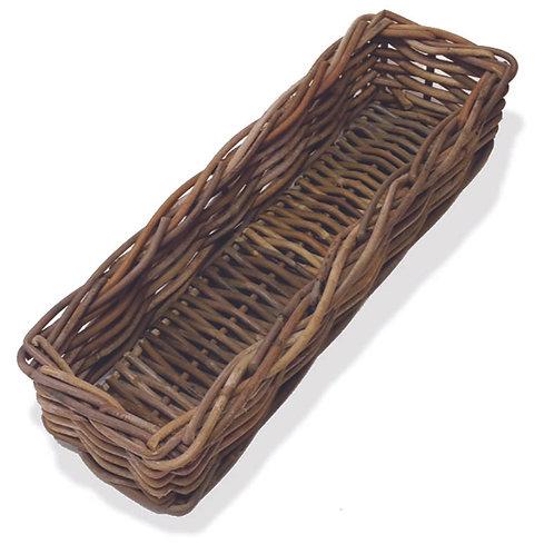 Kubu Rattan Rectangle Bread Basket