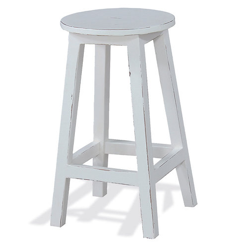 Bramble Provincial Stool - Tall White Harvest