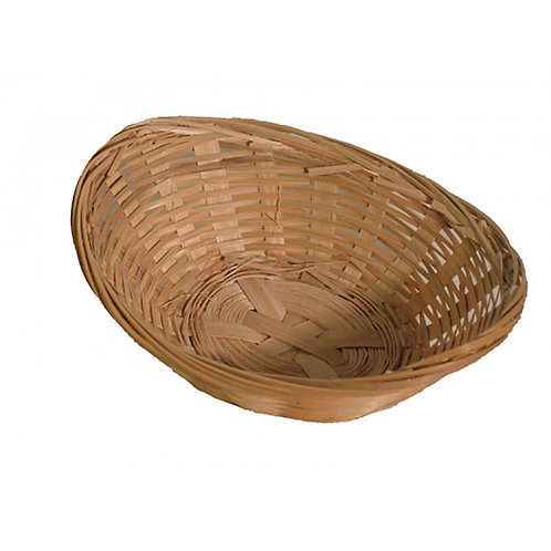 Bowl Bamboo 12in Oval