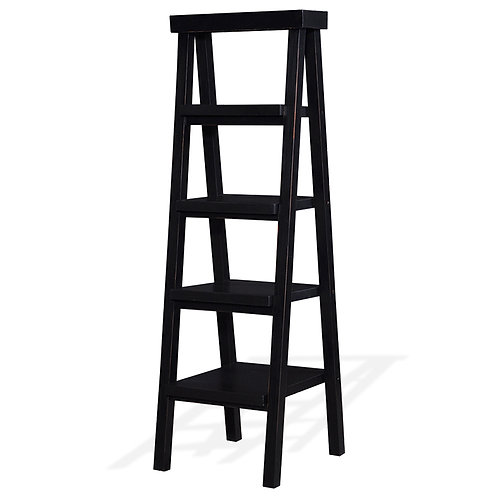 Bramble Samuel Ladder Shelf - Black