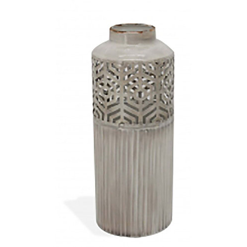 Metal Vase Cut Design - Small