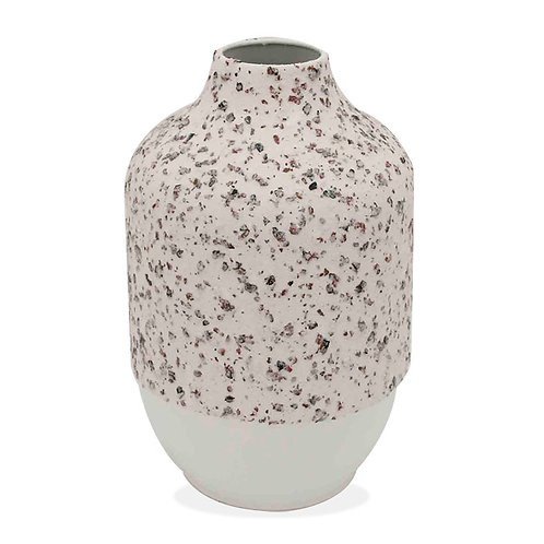 Metal Textured Vase - Small