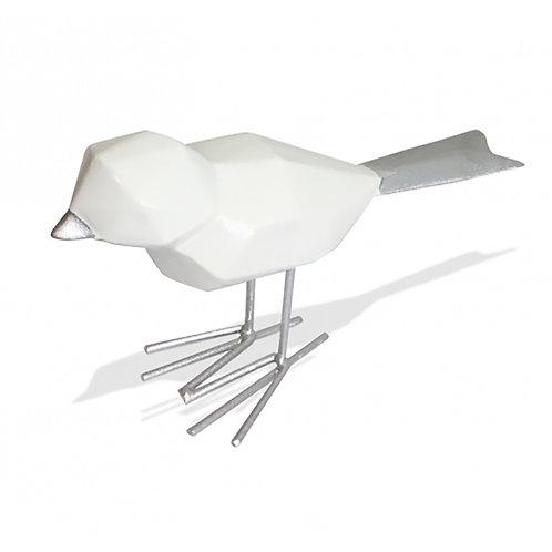 Bird - Silver & White