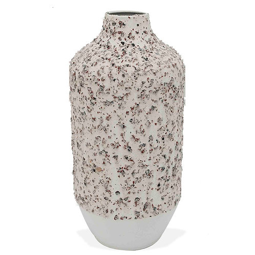Metal Textured Vase - Large