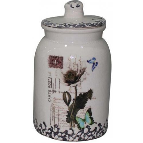 Round Butterfly Jar