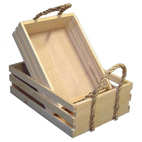 Crate Natural Lge