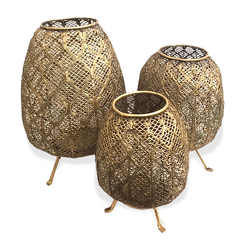 Moroccan Candle Holder - Medium