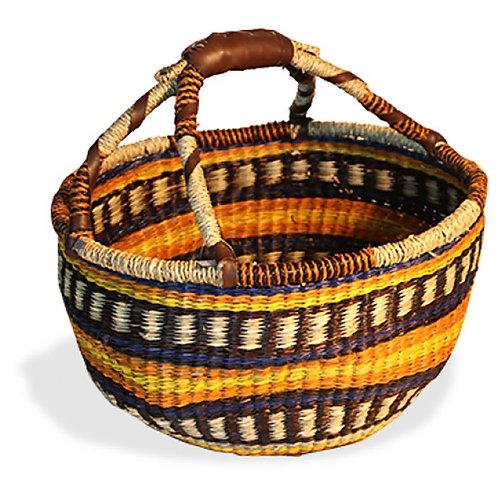 Seagrass Basket - Multi Colour
