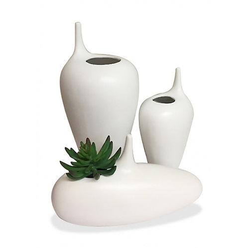 Modernist Irregular Vase - Low
