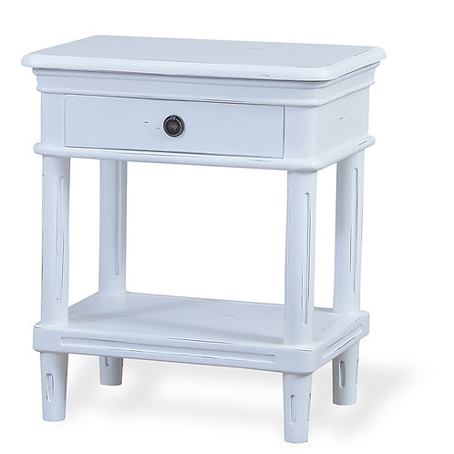 Bramble Hayward Side Table - Architectural White