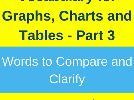 Vocabulary to Compare, Contrast and Clarify