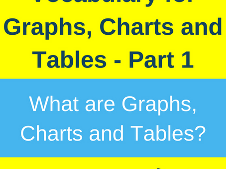 What are Graphs, Charts and Tables?