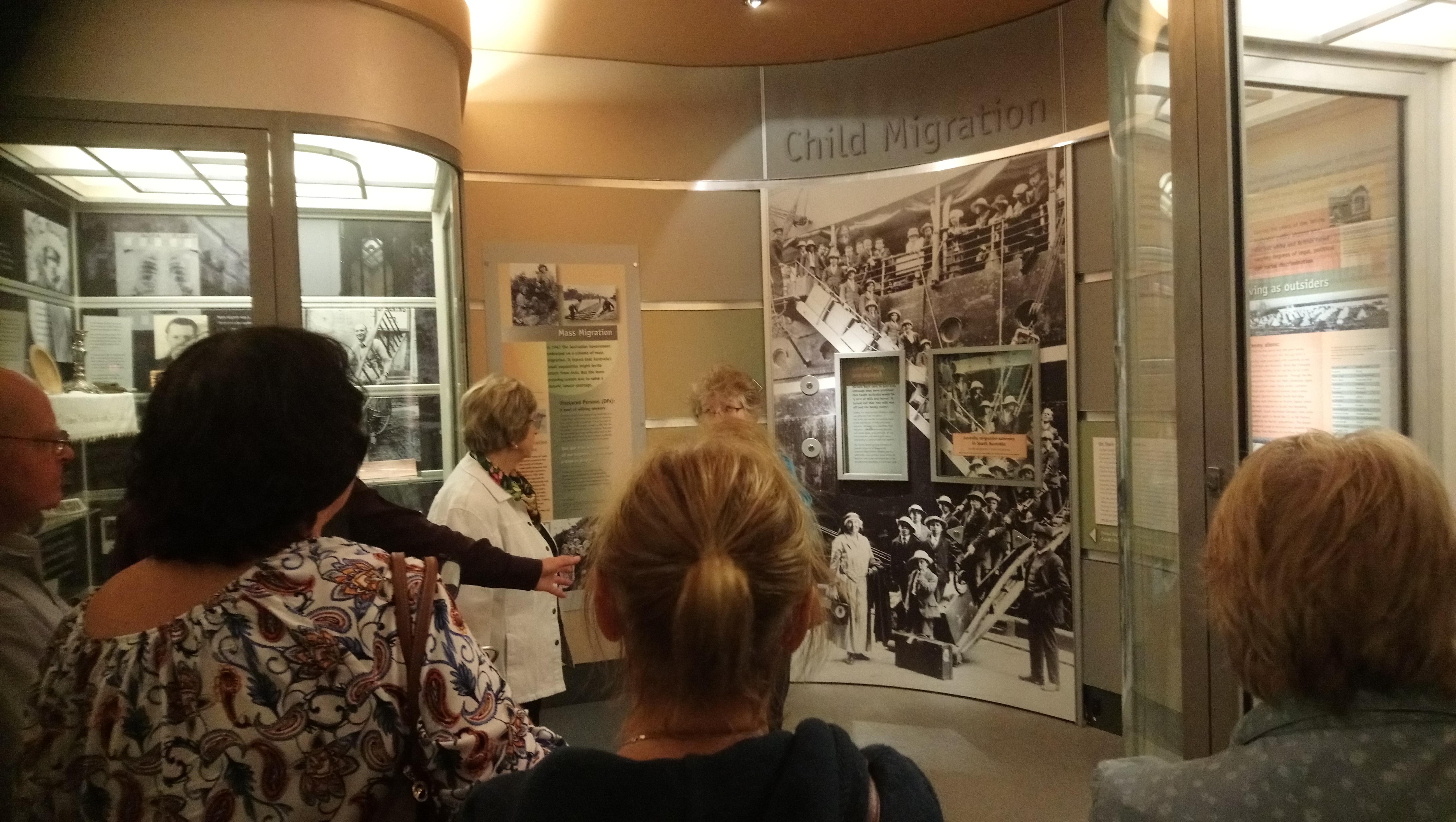 SA Migration Museum U3A group